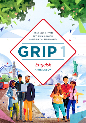 Grip 1 Engelsk Arbeidsbok (BM)