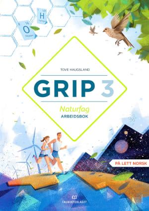 Grip 3 Naturfag Arbeidsbok (BM)
