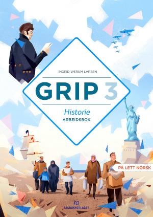 Grip 3 Historie Arbeidsbok (BM)