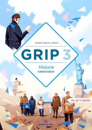 Grip 3 Historie Arbeidsbok (NYN)