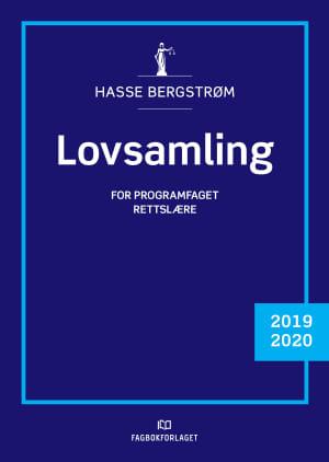 Lovsamling Rettslære 2019/2020, d-bok