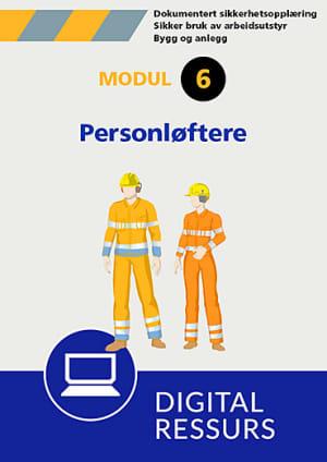 Sikker bruk av arbeidsutstyr Modul 6, powerpoint