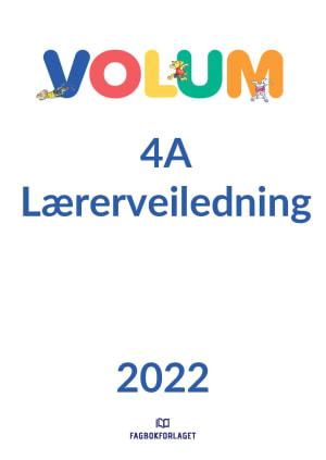 Volum 4A Lærerveiledning