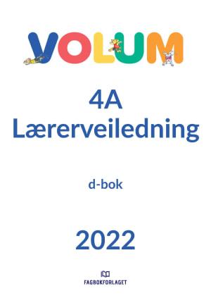 Volum 4A Lærerveiledning, d-bok