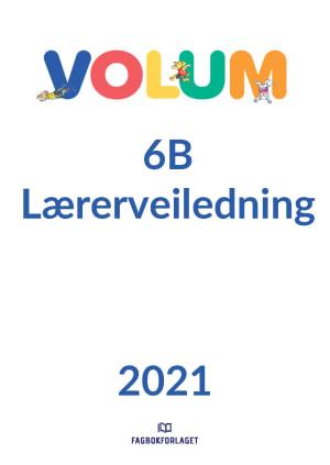Volum 6B lærerveiledning