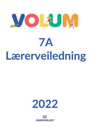 Volum 7A Lærerveiledning