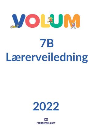 Volum 7B lærerveiledning