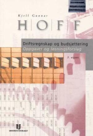 Driftsregnskap og budsjettering