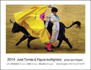 2014 Josè Tomàs & figura-bullfighters