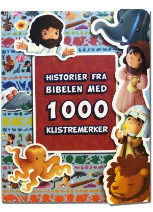 Historier fra Bibelen med 1000 klistremerker