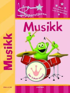 Superstjerne. Musikk. Fra 6-12 år. Med klistremerker som belønning