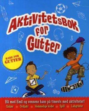 Aktivitetsbok for gutter. Bli med Emil og vennene hans på timevis med aktiviteter!