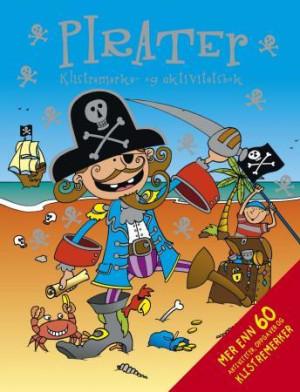 Pirater. Klistremerke- og aktivitetsbok
