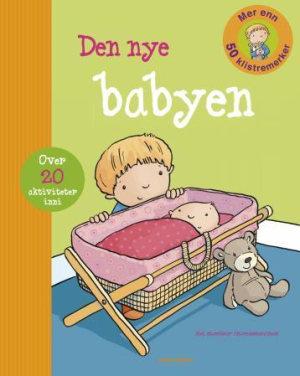 Den nye babyen. Aktivitetsbok med klistremerker
