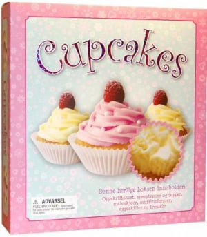 Cupcakes. Eske med oppsriftskort