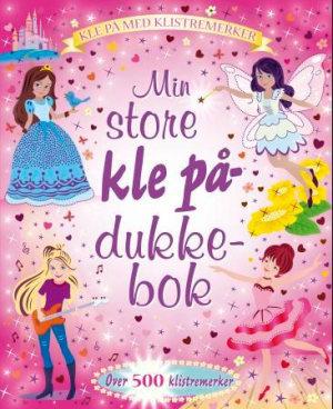 Min store kle på-dukke-bok. Kle på med klistremerker