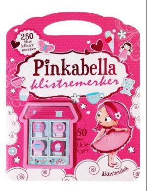 Pinkabella klistremerker. Aktivitetsbok med 250 klistremerker og 80 klebelapper