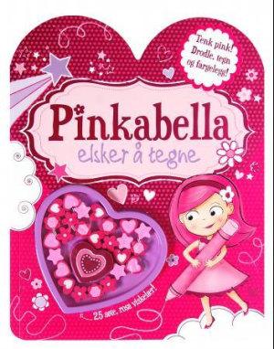 Pinkabella elsker å tegne. Aktivitetsbok med 25 viskelær
