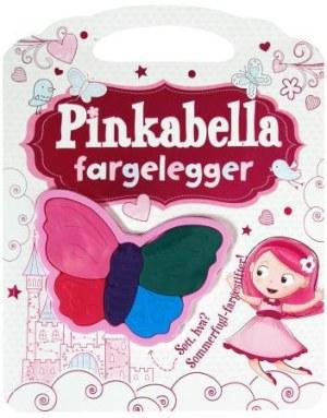 Pinkabella fargelegger. Aktivitetsbok med fargestifter
