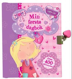 Min første dagbok. Lappe-Lise. Med klistremerker og lås