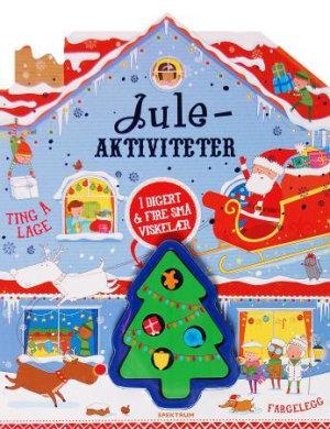 Juleaktiviteter. Med 1 digert & fire små viskelær
