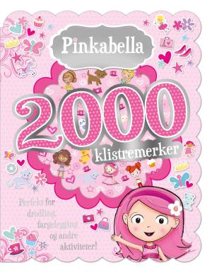 Pinkabella. 2000 klistremerker