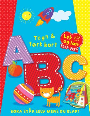 ABC skriv og tørk bort. 1 bok. 1 tavletusj