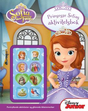 Prinsesse Sofias aktivitetsbok. Disney junior. Med glitrende klistremerker