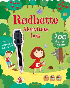 Rødhette. Aktivitetsbok. 200 klistremerker. Ulveviskelær og blyant