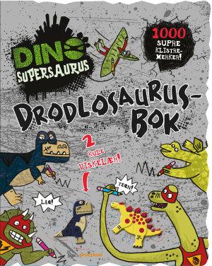 Drodlosaurusbok. Dinosupersaurus. Med 2 dino-viskelær