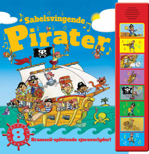 Sabelsvingende pirater