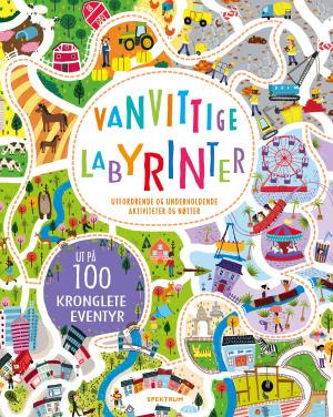 Vanvittige labyrinter. Ut på 100 kronglete eventyr. Utfordrende og underholdende aktiviteter og nøtter