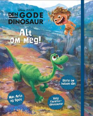 Den gode dinosaur. Alt om meg! Møt Arlo og Tass, skriv om helten din, velg favorittdinosaurer