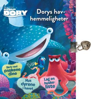 Oppdrag Dory. Et hav av hemmeligheter. Bok med hengelås