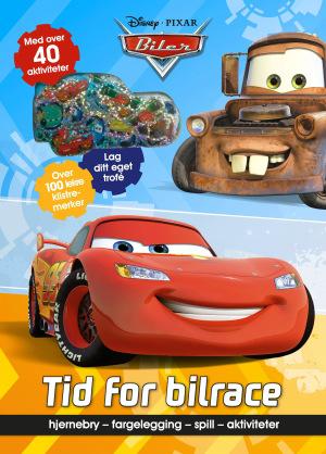 Biler. Tid for bilrace. Hjernebry, fargelegging, spill, aktiviteter