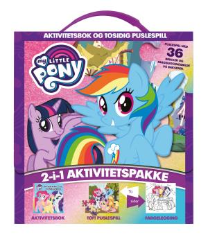 My Little Pony. Aktivitetsbok og puslespill