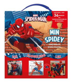 Spiderman. Aktivitetsbok og puslespill