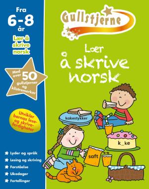 Lær å skrive norsk. 6-8 år. Gullstjerne