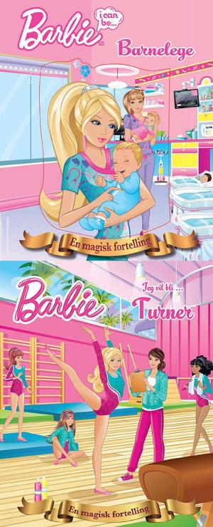 Barbie tester spennende jobber