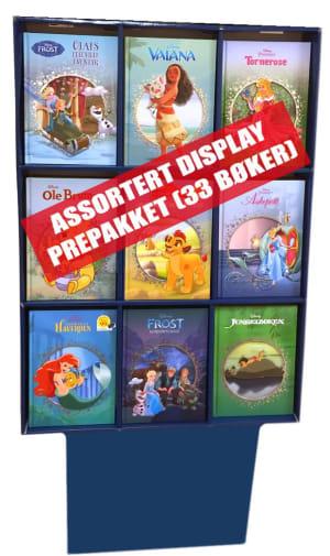 Display Disney Klassikere. 33 stk.
