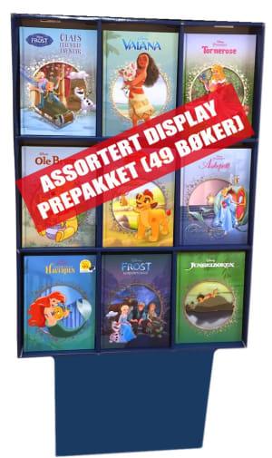 Display Disney Klassikere. 49 stk.