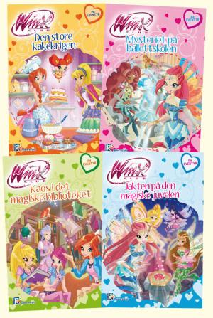 Winx lesebøker 5-8