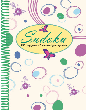 Sudoku. 198 oppgaver - 3 vanskelighetsgrader
