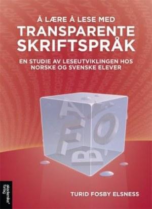 Å lære å lese med transparente skriftspråk