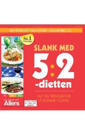 Slank med 5:2-dietten