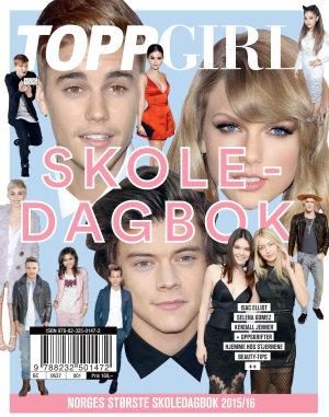 ToppGirl skoledagbok 2015/16