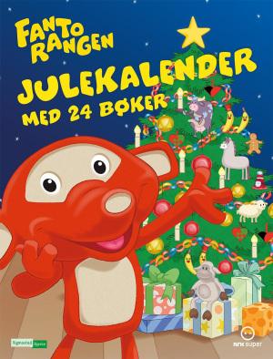 Fantorangen julekalender med 24 bøker