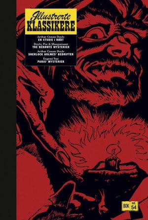 En studie i rødt ; Tre berømte mysterier ; Sherlock Holmes' bedrifter ; Paris' mysterier