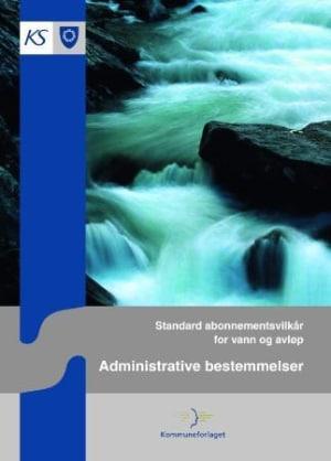 Standard abonnementsvilkår for vann og avløp