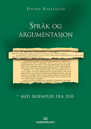 Språk og argumentasjon - med eksempler fra juss